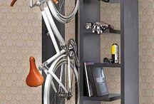 Bikes and storage