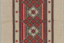 Hafty czerwono- czarne