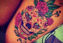 tatoo tete de mort