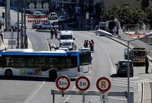 One killed in Marseille after car crashes into bus shelters