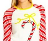 Christmas Clothes and Accessories / Women's Clothes and accessories that are Christmas themed.