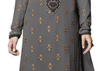 Delicate & feminine collection of salwar suits / Shop now - http://bit.ly/1U6AhPU