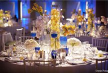 Sparrow Wedding / Look and Feel for the table decor