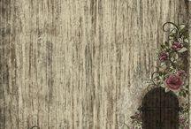 Фон деревянные дощечки