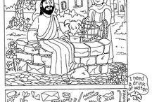 Hidden Pictures - Bible Stories