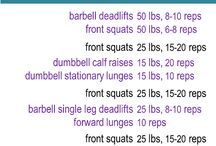 Legs and booootay workouts / by Holly Melko