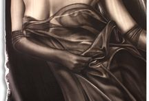 Figurative Art on Metal by A.D. Cook / My figurative paintings on metal.