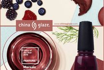 "Pantone 2015 - Marsala / Described as a ""naturally robust and earthy wine red,"" Marsala has been announced as the PANTONE® Color of the Year 2015. This elegant, grounded shade is a strong addition to any beauty look whether worn alone or as an accent."