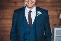 wedding suits blue