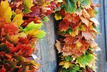 Efterår / Kranse og dekorationer