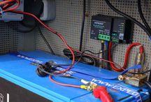 Wohnmobiel Strom solar