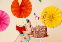 Lily's rainbow circus birthday party / Lily's 4th birthday party ideas. Rainbows, circus themes, animals!