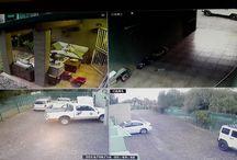 4 Channel Household Installation / 4 IR surveillance cameras 4 Channel DVR Access to Smartphone & LAptop etc