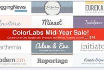 Premium WordPress Themes / by Broady