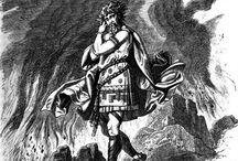 Rökkr Gods / Loki, Surt, Fenrir etc
