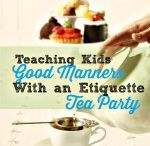 Manner tea party