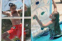 AquaClimb Classic - 3D Ice / AquaClimb Classic - 3D Ice - Translucent Panels - 3D Contoured Panels - Non Abrasive Surface