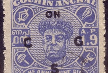 India - Cochin Stamps