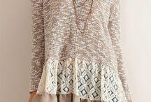 combinatii tricotaje