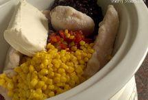 Crockpot recipes / Meals