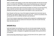 Bellini hints & tips