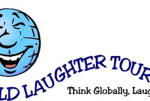 """World Laughter Tour / The Mission of World Laughter Tour, Inc. is to create and disseminate an adjunctive therapeutic modality called """"laughter therapy"""", by properly applying laughter theories and practices into multi-generational, multi-cultural, systematic health and happiness programs."""