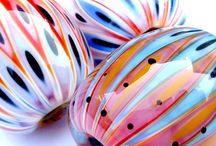 Perles d' artistes que j' aime / Perles en verre