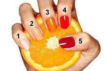 At My Fingertips / Nail designs and/or nail polishes