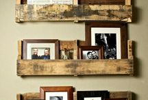 Pallet Ideas / by Contents: Party, Christmas & Home