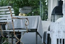 Brocante and shabby chic