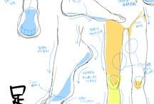 Drawing References - Legs & Feets
