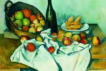 November 2013 - Art Bead Scene Monthly Challenge / Lets celebrate the peak fall landscape with Cezanne's apple-scape ! http://artbeadscene.blogspot.com/2013/11/november-monthly-challenge.html