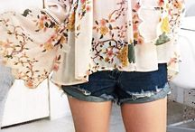 Flower blouses outfit
