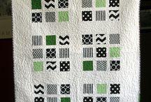 Quilts -- grandma's squares