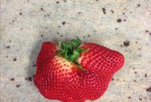 What a weird strawberry