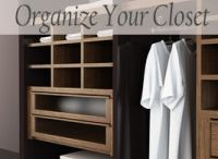 Organizing: Bedrooms and Closets