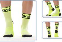 Monton Cycling Socks / Monton Cycling Socks, fluorescent yellow bike socks, neon green cycling socks