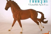 """Finnigan Copperfox Model Horse / Images of """"Finnigan"""", our chestnut Irish Sports Horse who is part of our 2016 Copperfox range of model horses."""