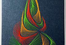 Fonalgrafika String art