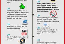 Nettside / Hvordan utvikle nettsiden/blogg/facebook/twitter m.m.