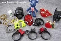 Bijuterias / A I Love Acessórios é o lugar perfeito para encontrar as bijuterias mais fofas! Colares, anéis, pulseiras e outras coisinhas que você vai amar e desejar. Vem! http://www.iloveacessorios.com.br/ ♥