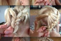 Little girl/big girl hair