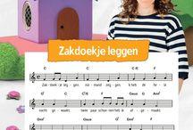 Liedjes van Zappelin / Nienke van Zappelin zingt kinderliedjes. Wil je ook mee kunnen zingen? Gebruik dan deze muziektekst