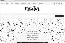 Feminine Genesis WordPress Themes / Are you a female business owner or business blogger using a Genesis framework looking for chic WordPress themes? Here are some really chic Feminine Genesis WordPress Themes!
