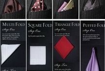 Ties, pocket squares and accessories