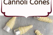 cannoli, shoe horns