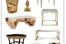 мебель современная в золоте