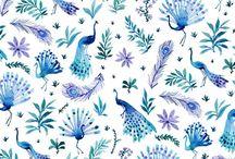 Azules / Maravillosa gama de este bello color.