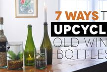Recycling and Upcycling / Recycling and upcycling old, disused or broken items can be a great way to make something unique for your home whilst being eco friendly!
