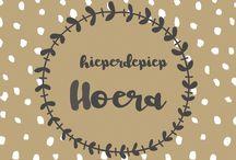 grafisch design / Leuke hippe kaarten met een grafisch design